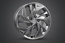 17˝alloy wheels