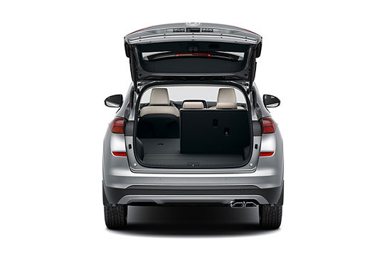 Hyundai Tuscon Rear seats folded 40%