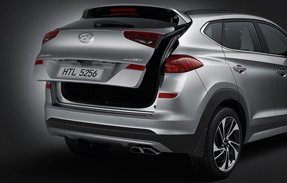 Hyundai tucson Smart Tailgate System