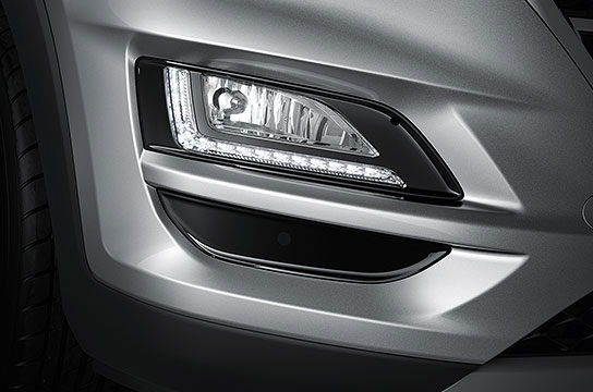 Hyundai Tucson LED Daytime Running Lights (DRL)