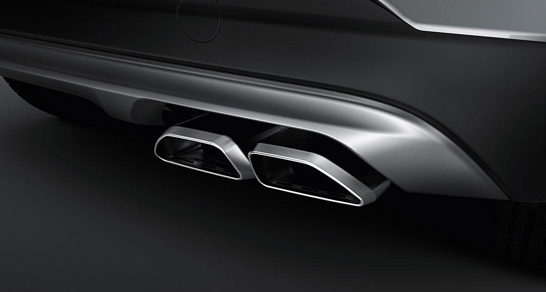Hyundai Tuscon Dual mufflers