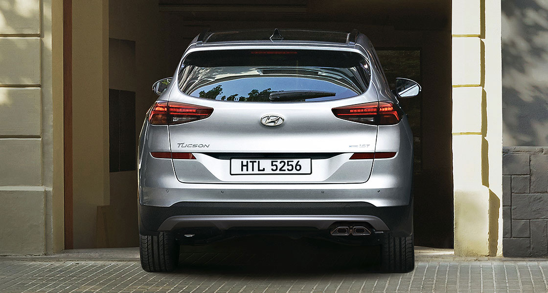 Hyundai Tucon rear view