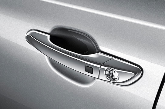 hyundai tucson Chrome-Coated Outdoor Handles