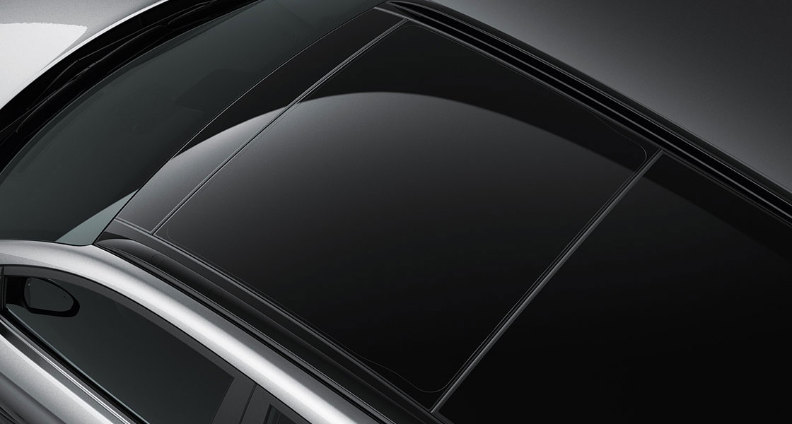 Hyundai Tuscon Panorama sunroof