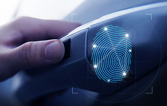 Fingerprint Authentication Entry System - How it works