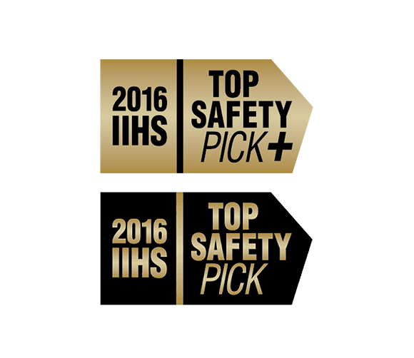 safety award iihs top safety pick logo