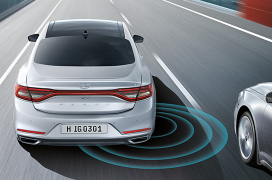 Blind Spot Detection with rear view