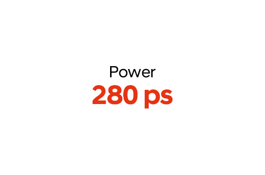 power 280ps