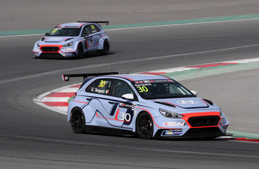 Fastest on track in the TCR International finale