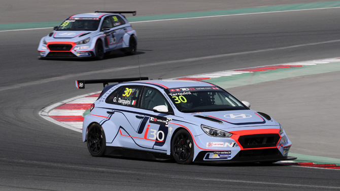i30 N TCR shows strength in Dubai