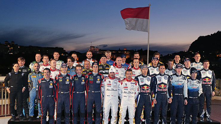 the group photo of 2015 season motorsport team crews