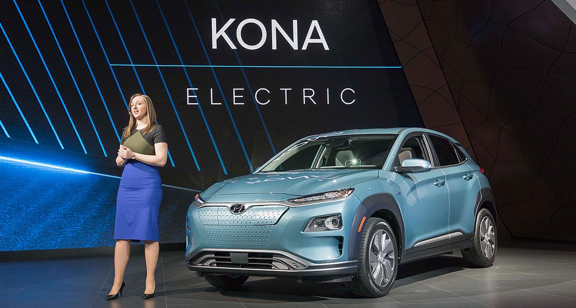 2019 Hyundai Kona Electric Recalibrates Eco Cuv Formula With An